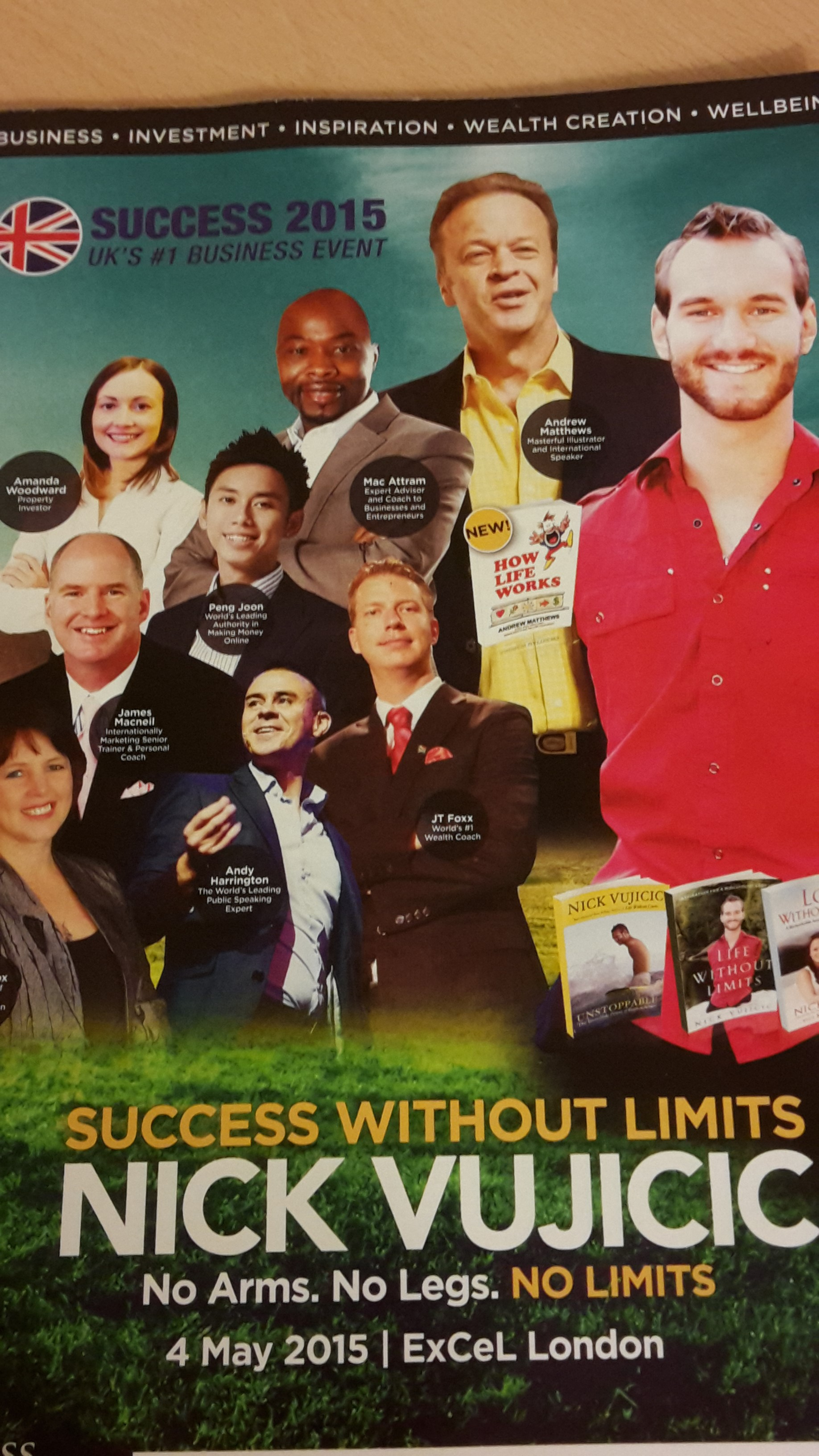 Unbiased Review of the Success Resources Seminar 2015