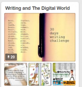 Writing and the digital life pinterest