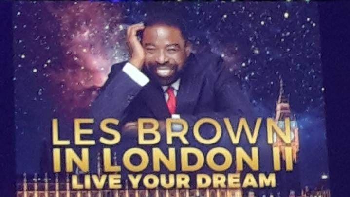 Review of Les Brown in London – Live Your Dream Event