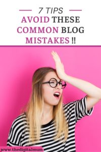tips to avoid these common blog mistakes