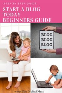 How to start a blog woman and children and computer with blog