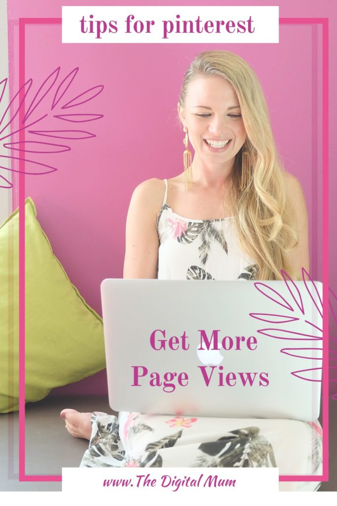 gt more page views on pinterest