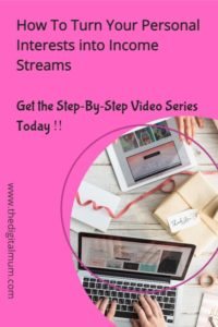 video workshops  income streams from home
