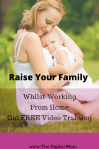 raise your family whilst working form home free  video training