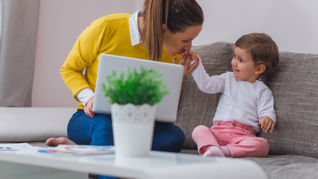 create an income from home for mums